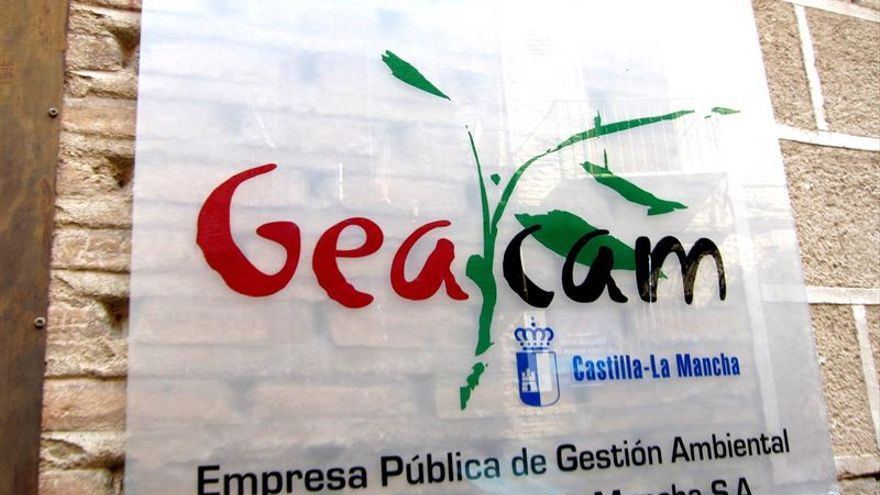 Cartel Geacam, Castilla-La Mancha / Foto: Europa Press