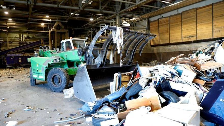 Una planta de residuos recicla el 98 % de la basura de capital de Eslovenia
