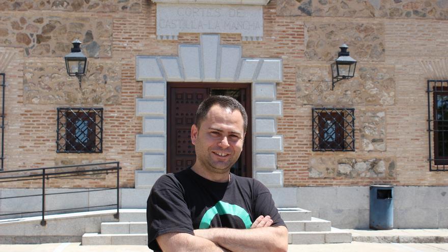David Llorente, portavoz de Podemos en las Cortes de CLM
