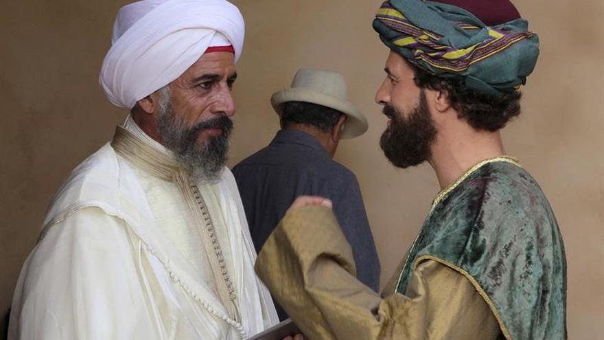 Rodolfo Sancho e Imanol Arias, en un film marroquí de intrigas palaciegas