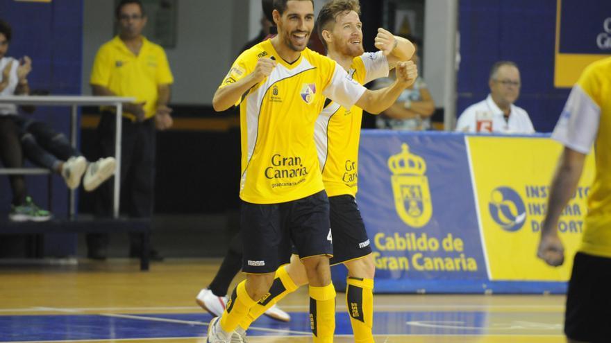 Jugadores del Gran Canaria FS. (colegiosarenasgrancanaria.com).