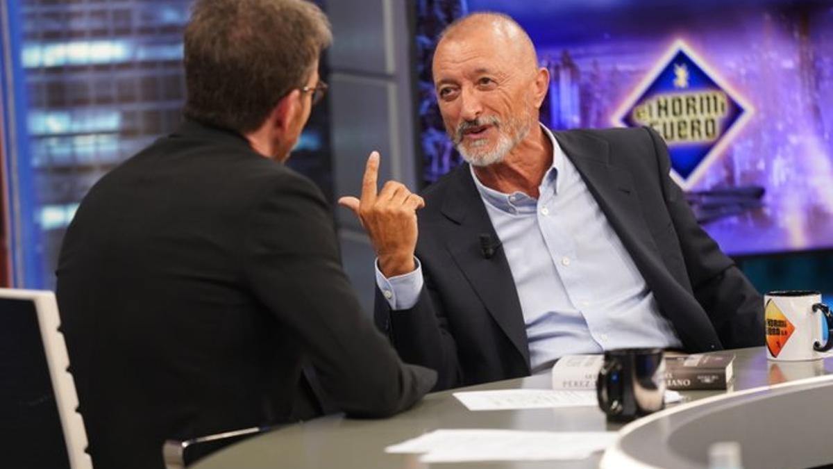 Arturo Pérez Reverte, en 'El Hormiguero'