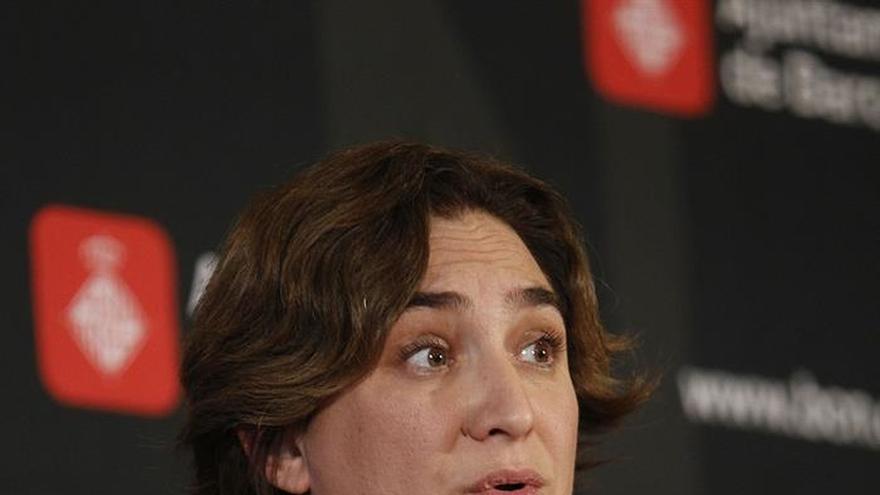 La alcaldesa de Barcelona, Ada Colau, ha presentado el Plan de Barrios