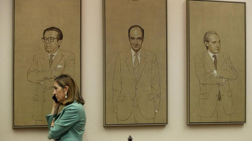 La presidenta del Congreso, Ana Pastor, durante la Diputación Permanente