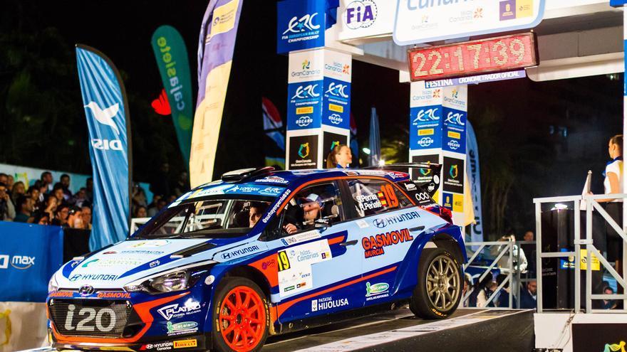 Imagen cedida por la organización del 43º Rally Islas Canarias.