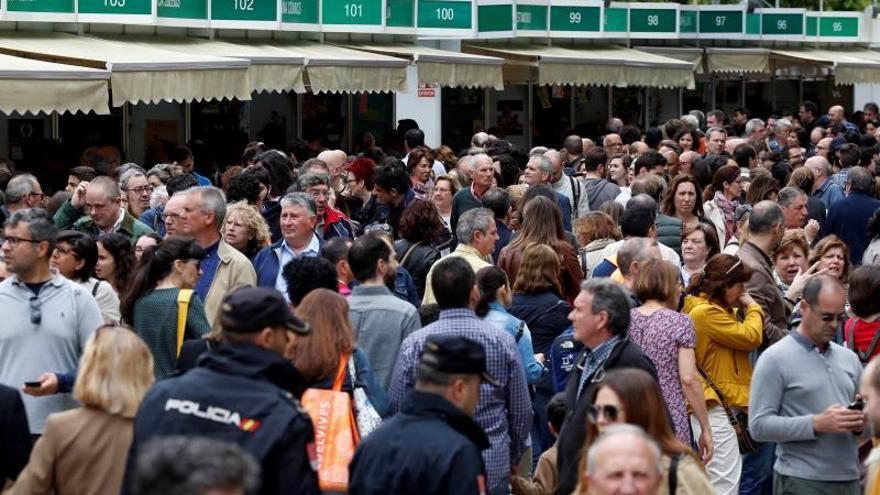 La Feria del Libro cierra con una bajada en las ventas del 7% y 2,2 millones de público