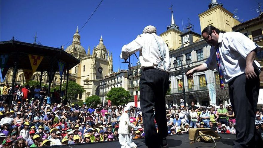 Titirimundi congregó en Segovia a más de 62.000 espectadores