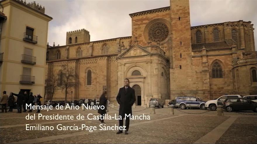Emiliano García-Page, saludo de año nuevo