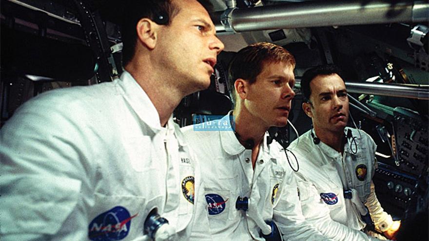 Los astronautas protagonista de 'Apolo XIII', en una escena de la película.