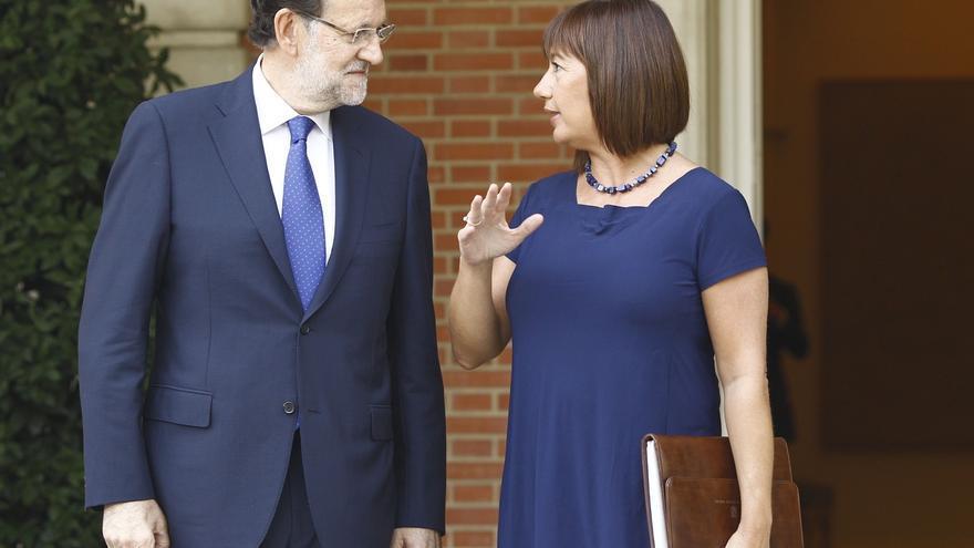 Armengol pide reunirse con Rajoy aprovechando su visita este sábado a Palma pero no obtiene respuesta