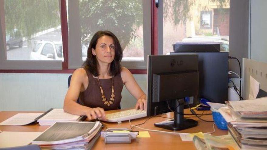 Elena Álvarez, concejal de Hacienda del Ayuntamiento de Breña Baja.