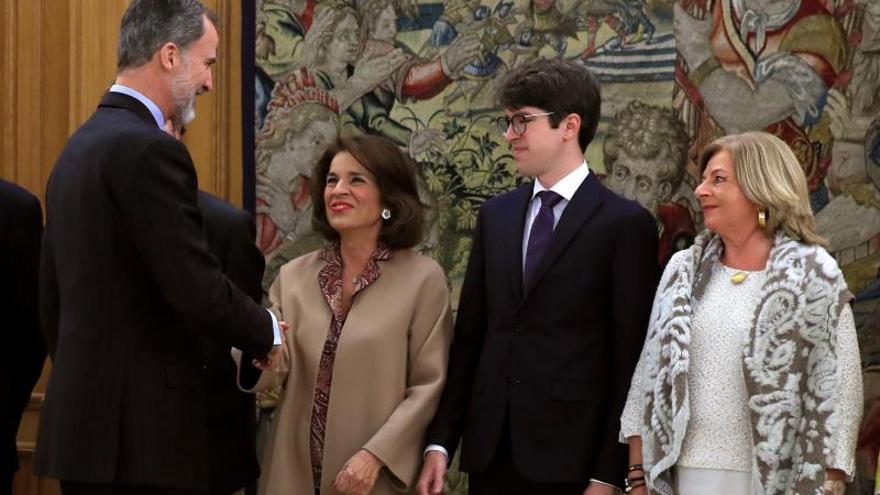 Felipe VI homenajea a Gregorio Ordóñez en el 25 aniversario de su asesinato