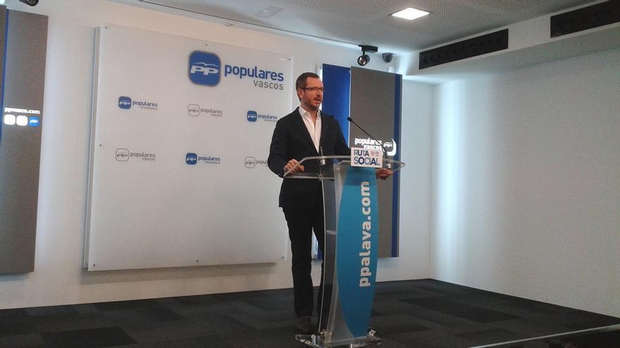 """Maroto (PP) espera una actitud """"conciliadora"""" entre PNV y Gobierno central en materia presupuestaria"""