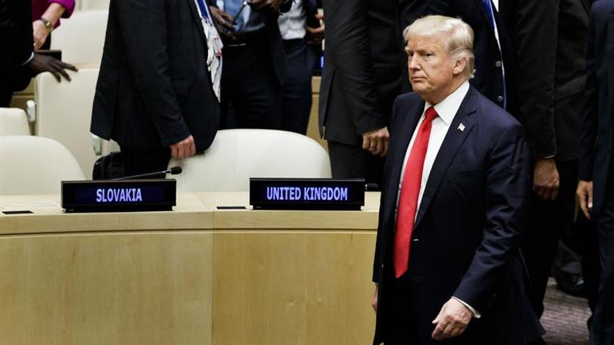 """Trump dice que revelará """"muy pronto"""" su plan sobre el pacto nuclear con Irán"""