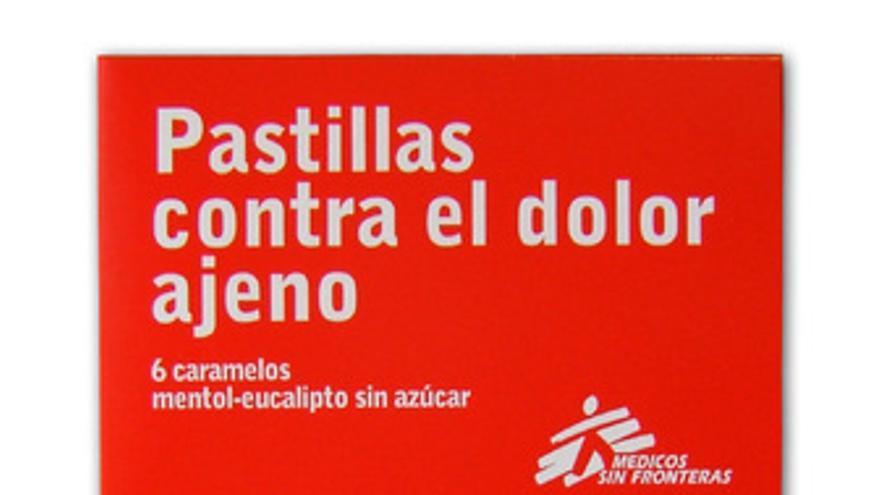 Las pastillas de Medicos sin Fronteras