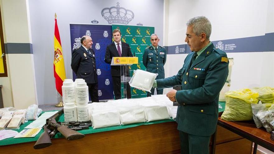 La G.Civil y la Policía Nacional aprehenden 324.000 dosis de speed por valor de 3,3 millones