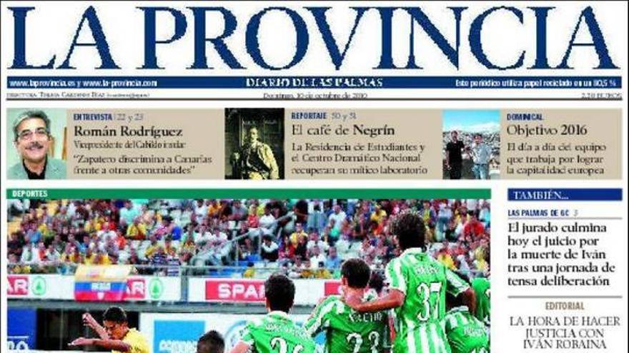 De las portadas del día (10/10/2010) #4