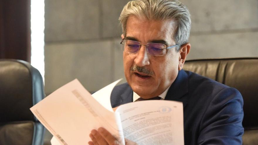 Román Rodríguez, consejero de Hacienda del Gobierno de Canarias
