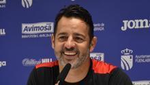 Mere Hermoso, entrenador del Fuenlabrada.