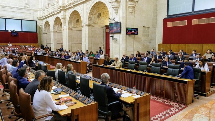 Parlamento andaluz pide, con rechazo de PSOE-A y Adelante, que el Gobierno envíe a Torra el requerimiento previo al 155