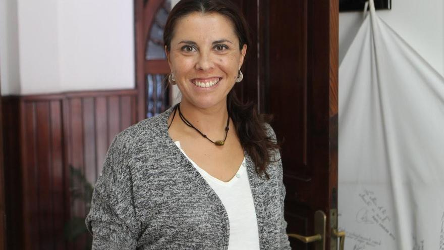 María del Carmen Acosta, concejal de Desarrollo Local de El Paso.