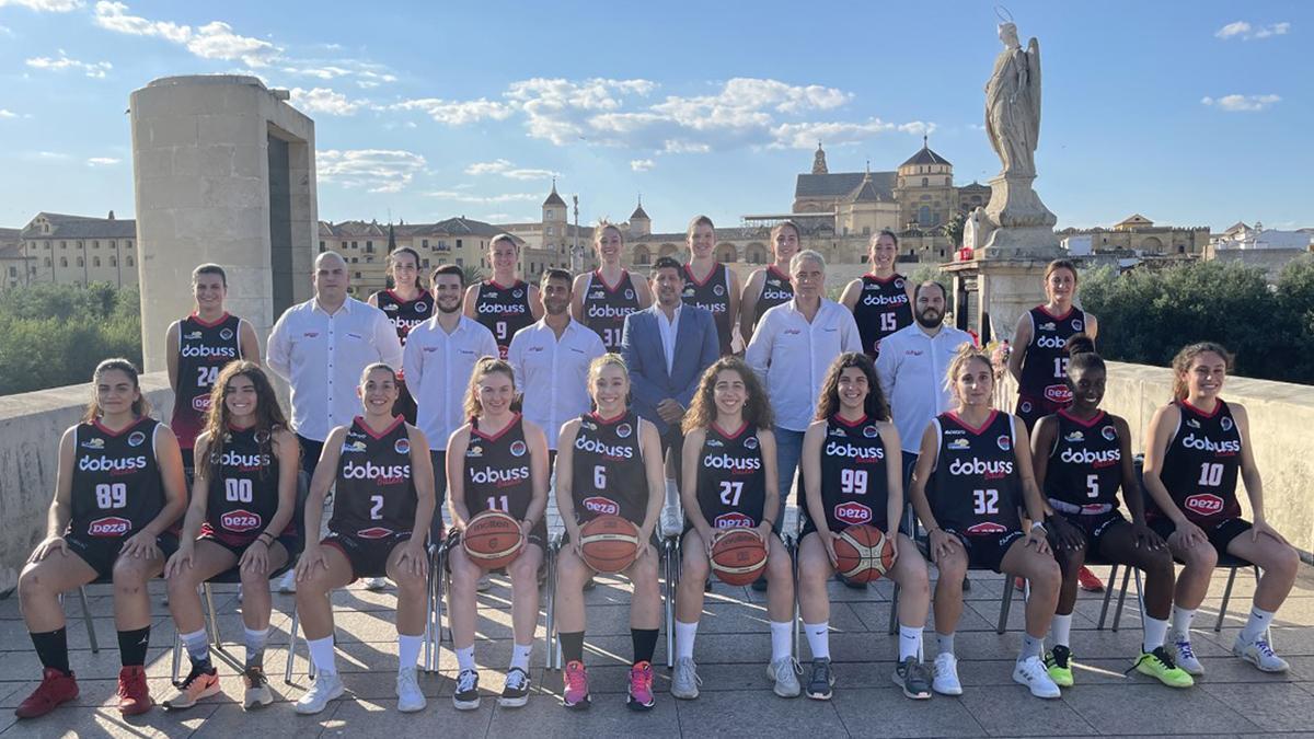 Plantilla del Dobuss Córdoba Basket