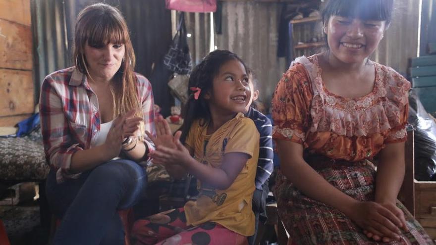 Más momentos de Rozalen en Guatemala
