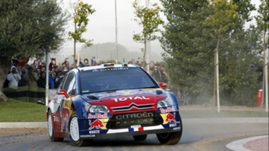 Loeb domina la primera jornada del Rally España