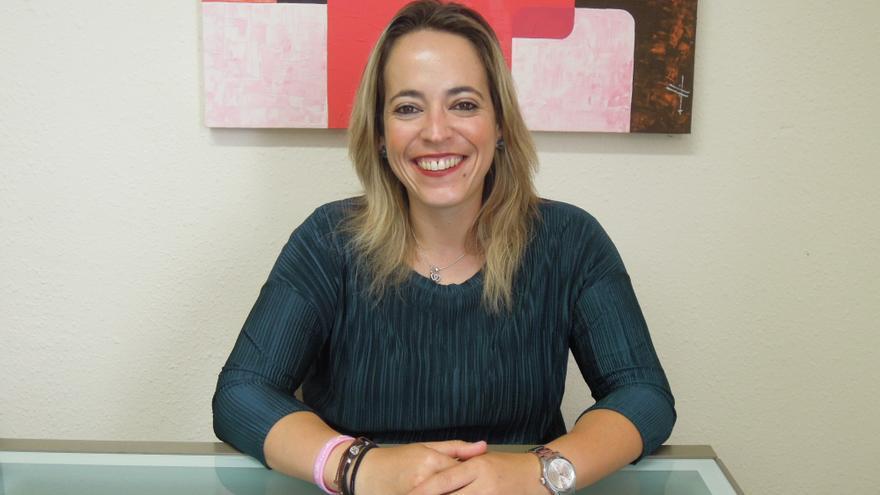 Susana Machín es consejera de Educación del Cabildo.