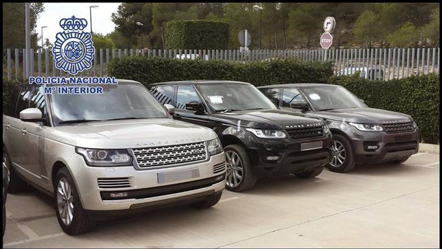 Cae una banda que vendía a Europa del Este y Oriente Medio coches robados