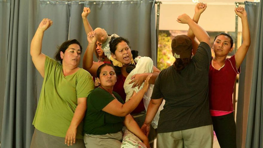 Las protagonistas del documental 'Cachada', durante un momento del film.