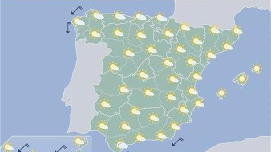 Hoy, calor en los valles de Extremadura, de Castilla y León y del Ebro