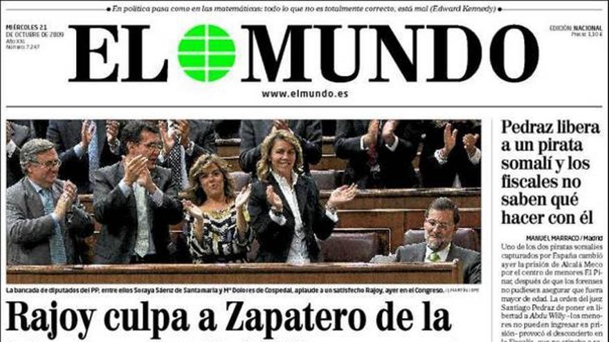 De las portadas del día (21/10/2009) #7
