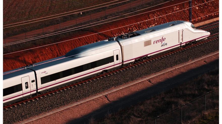 Tren AVE del servicio entre Madrid y Granada.
