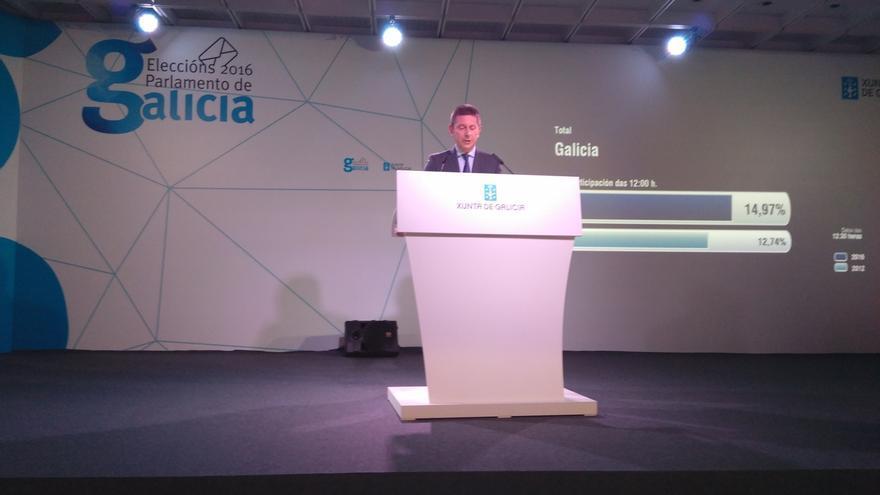 La participación en Galicia hasta las 12.00 horas se sitúa en el 15% y sube más de dos puntos