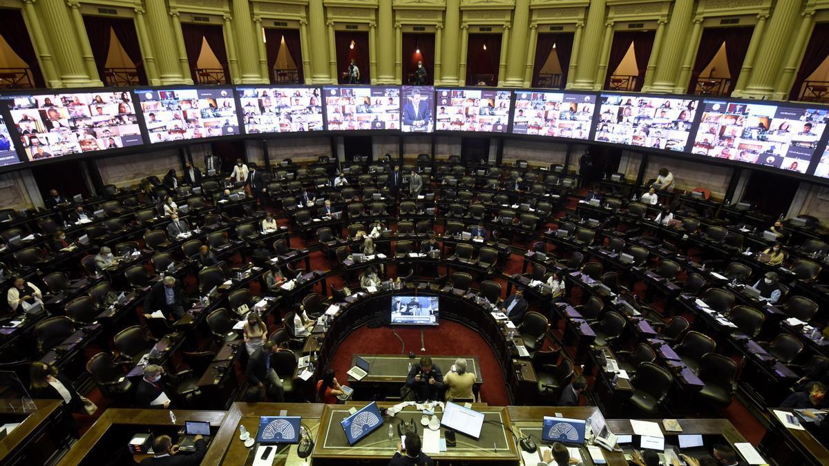 La reforma jubilatoria se debatirá el 29 de diciembre en el recinto de la Cámara de Diputados.