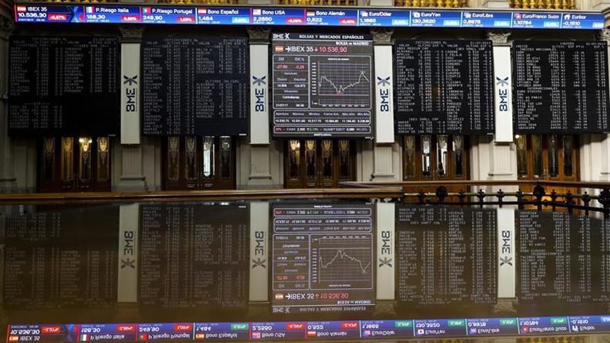 La Bolsa española prepara el asalto de los 10.500 puntos al sumar el 0,14 por ciento