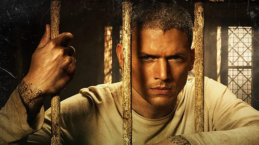 Wentworth Miller, en una imagen oficial de 'Prison Break'