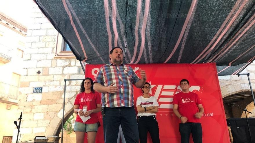 Junqueras defiende crear una caja de resistencia para cubrir a Mas económicamente por el 9N