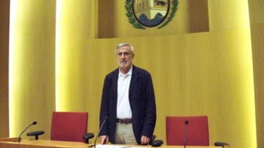 El Portavoz De Bildu En El Ayuntamiento De Bilbao, Txema Azkuenaga.