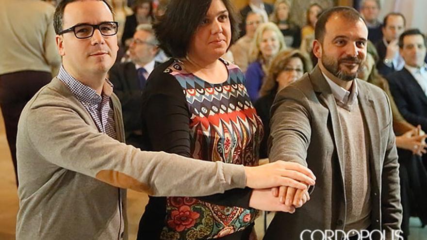 Paco Morales, Celia Jiménez y Kisco García | MADERO CUBERO