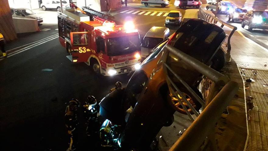 Otra foto del incidente de Granadilla