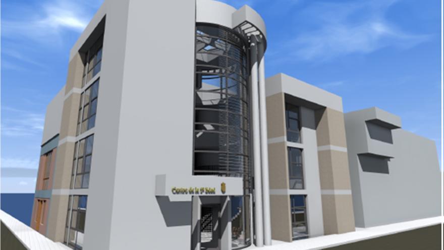 Proyecto del Centro de Mayores de El Paso.