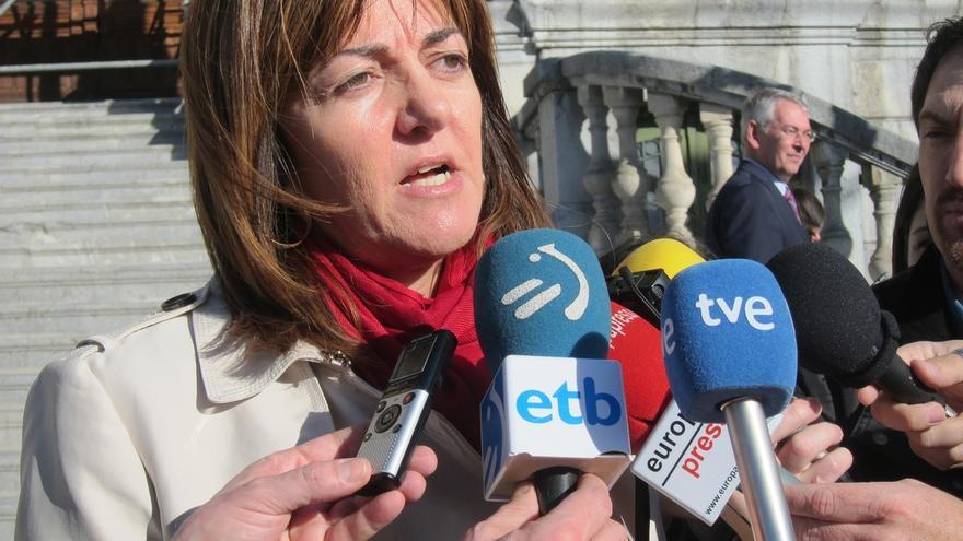 """Mendia confía en que en el debate se vea """"la España que deja Rajoy y la que podemos soñar los españoles"""" con PSOE"""