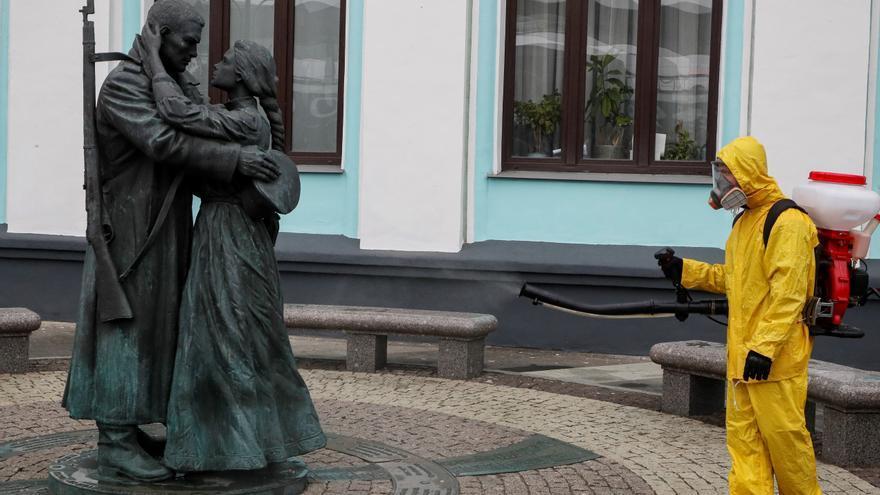 Rusia registra 12.505 contagios en un día, el máximo en casi cuatro meses