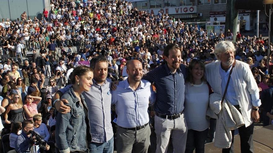 """Iglesias: """"La primera traducción electoral del 15M no fue Podemos, fue AGE y Xosé Manuel Beiras"""""""