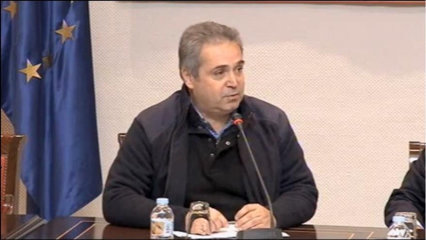 Comparecencia de Juan Santana en la Comisión de Radiotelevisión Canaria
