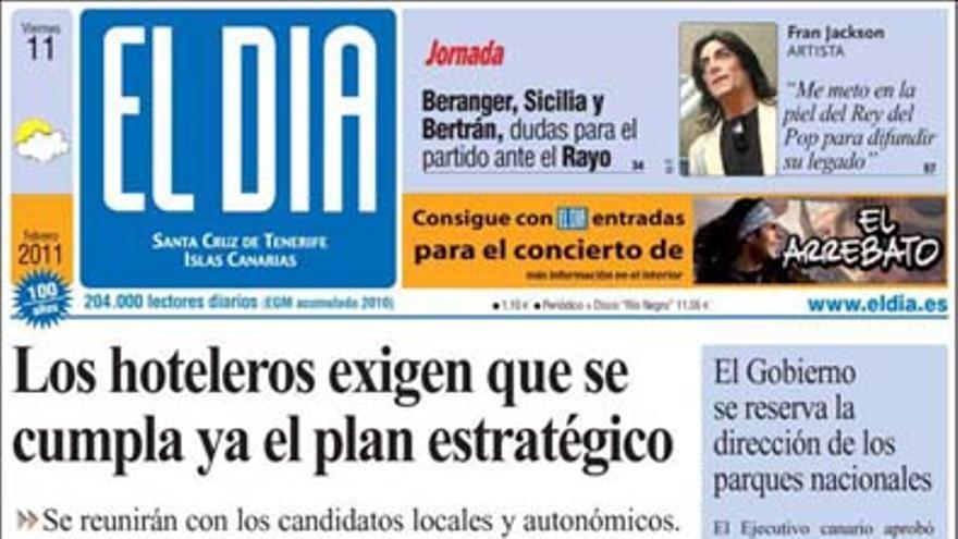 De las portadas del día (11/02/2011) #4