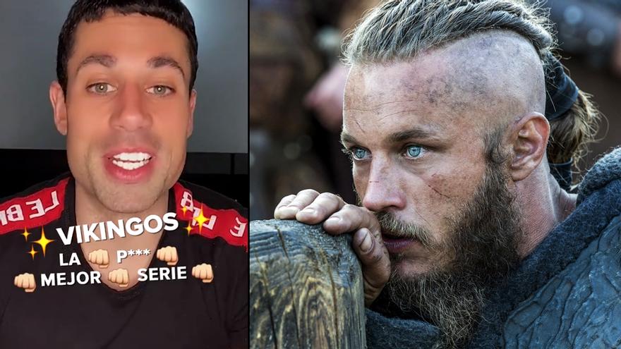 Amazon ficha a Diego,  de 'La isla de las tentaciones', para que promocione 'Vikingos'