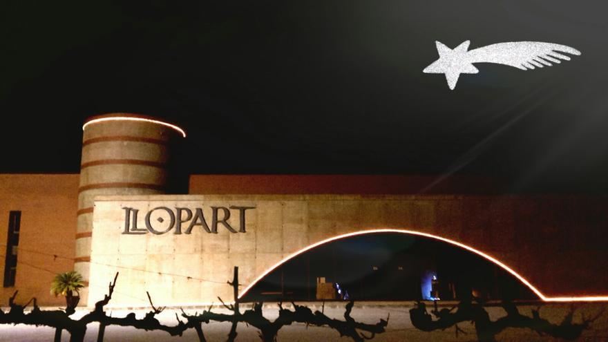 La tercera tarjeta navideñas de Llopart.
